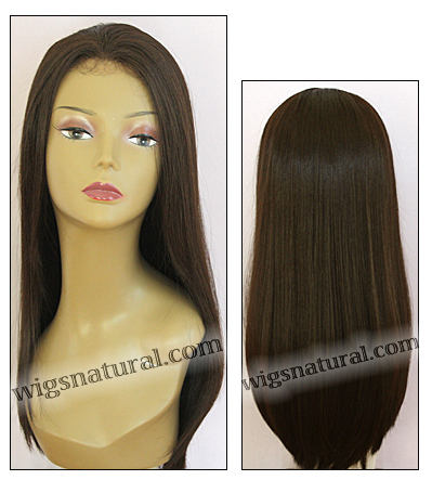 Human hair blend lace front wig HBL-CHARITY, SEPIA Love it wig collection, color #4