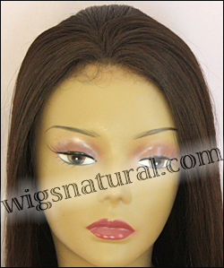Human hair blend lace front wig HBL-CAROLINE, SEPIA Love it wig collection, color #4