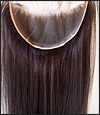 Lace Frontal, Indian Remy hair, WN-Frontal-LightYaki, custom