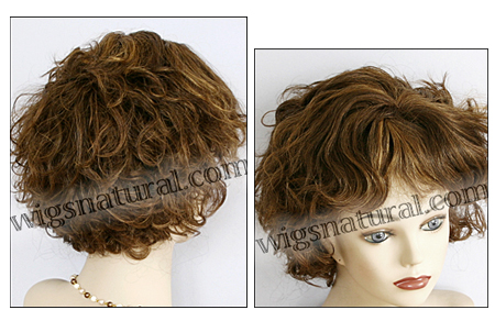 Human hair wig H LIZ, SEPIA Wig Collection, color H27-4-30