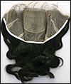 Silk Top Lace Frontal, Virgin Indian Remy hair, WN-Frontal-silktop, custom