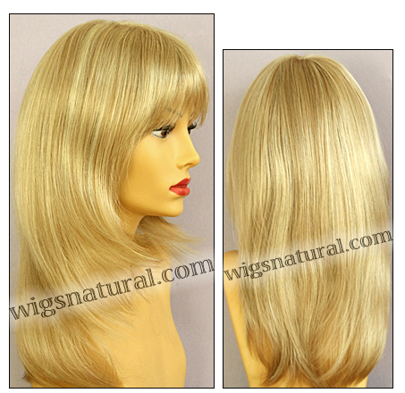 Envy mono part wig Leyla, color shown medium blonde