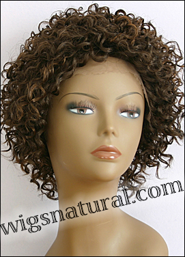 Lace Front Wig, BOBBI BOSS Front Lace wig Mura, Premium Fiber Hair, color FS4/30