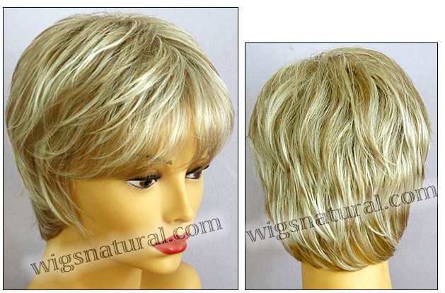 Envy open top wig Elle, color shown light blonde