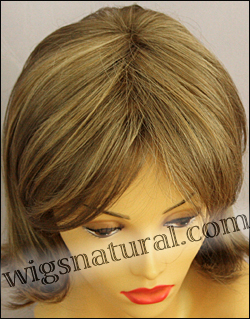 Envy mono top with lace front wig Taylor, color shown mocha frost