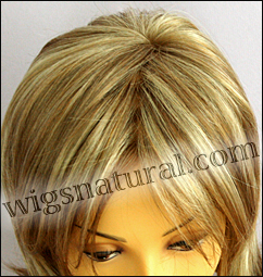 Envy mono top with lace front wig Taylor, color shown dark blonde