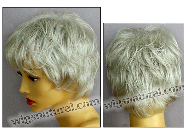 Envy open top wig Elle, color shown light grey
