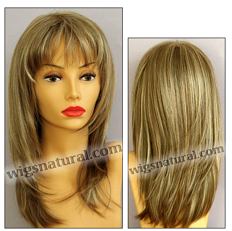Envy mono part wig Leyla, color shown dark blonde