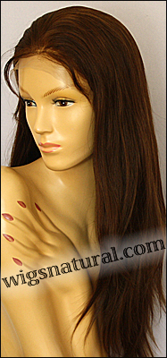Origins Wigs Silk Straight, Indian Remy human hair, lace front wig