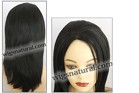 Human hair wig HH850, HairSense wig, Secret Wig Collection, color 1B