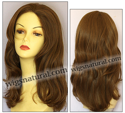 Human hair wig H LESLIE, SEPIA Wig Collection, color #6