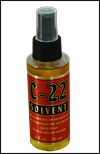 C-22 Citrus Based Adhesive Remover, 4 oz. Spray bottle