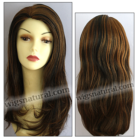 Human hair wig H LESLIE, SEPIA Wig Collection, color F1B.30