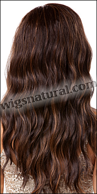 SEPIA Lace Front Wig YANI, Heat-Resistant Synthetic Fiber, color FS4/27