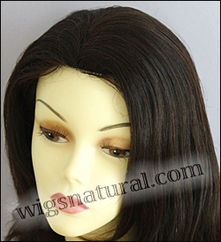 Human hair wig H LESLIE, SEPIA Wig Collection, color #2