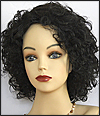 Human hair wig Coco, Beauty of Gold Collection, color 1B