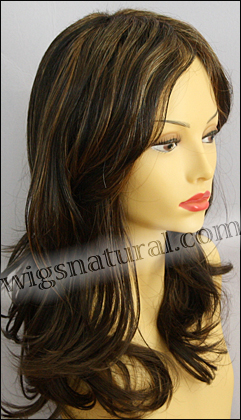 Envy lace front wig Monique, color shown chocolate Caramel