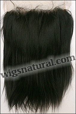 Lace Frontal, Remy hair, WN-Frontal-YakiStraight, custom