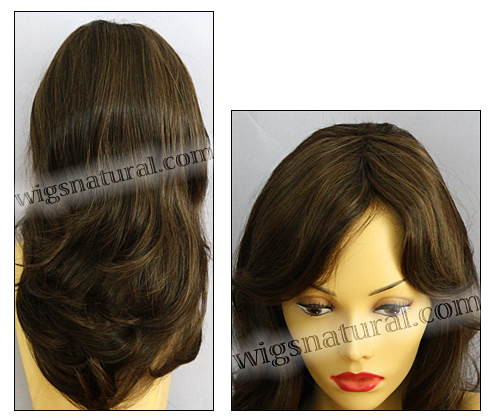 Envy lace front wig Monique, color shown medium brown