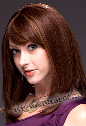 REMY Human hair wig PB HM MARIAH, SEPIA Wig Collection