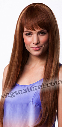 Human hair wig H TERRY, SEPIA Wig Collection