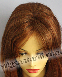 Envy lace front wig Monique, color shown lighter red