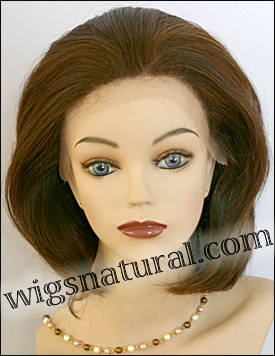 SEPIA Lace Front Wig Opal, Heat-Resistant Futura Synthetic Fiber, color P4/27/30