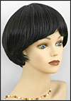 Human hair wig H VIVA, SEPIA Wig Collection, color #1