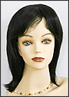 Human hair wig HH846, color #1, HairSense wig, Secret Collection