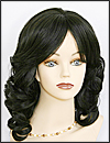 Human hair wig HH826, HairSense wig, Secret Collection, color 1B
