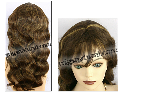 Human hair wig HH-GRACE, HairSense wig, Secret Collection, color FS4/27