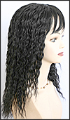 Human hair wig HH-ANDRA, color 1B, HairSense wig, Secret Collection