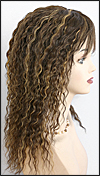 Human hair wig HH-ANDRA, color FS4/27, HairSense wig, Secret Collection