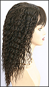 Human hair wig HH-ANDRA, color #2, HairSense wig, Secret Collection