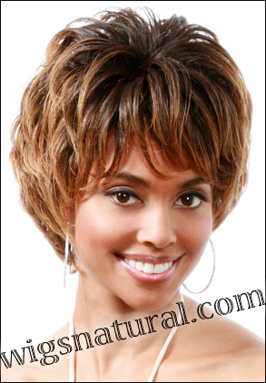 "Human hair wig MH1169, BOBBI BOSS wig collection <font color = ""#660000"">($39.99) </font color = ""#660000"">"