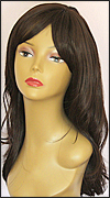 Human hair blend wig HB MISTRESS, SEPIA Love it wig collection, color #4