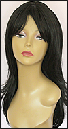 Human hair blend wig HB MISTRESS, SEPIA Love it wig collection, color 1B