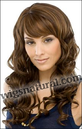 Human hair blend wig HB CREATIVE, SEPIA Love it wig collection