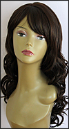 Human hair blend wig HB CREATIVE, SEPIA Love it wig collection, color #4