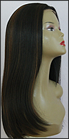 Human hair blend lace front wig HBL-CHARITY, SEPIA Love it wig collection, color FS1B/30