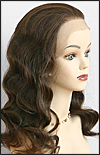 Lace Front Wig, Premier Human Hair, wig style HH.LACE/PAULA, color #4