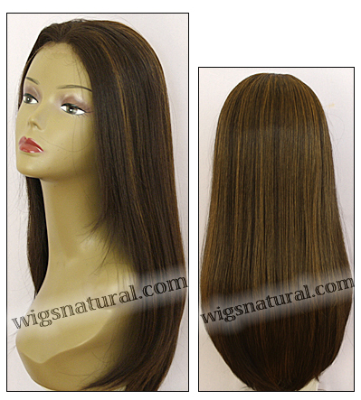 Human hair blend lace front wig HBL-CAROLINE, SEPIA Love it wig collection, color FS4/27