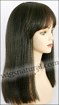 Human hair wig June, color TP1B/33, Magic Touch Collection