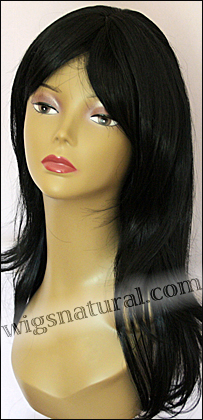 Human hair blend wig HB MISTRESS, SEPIA Love it wig collection, color #1