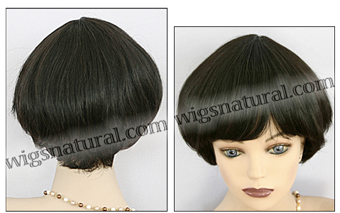 Human hair wig H VIVA, SEPIA Wig Collection, color 1B