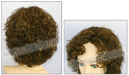 Human hair wig Coco, color FS4x27, Beauty of Gold Collection