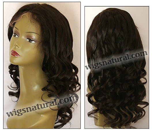 Full lace wig, Indian remy hair, Wig style WN-bodyCurl-3-24, in stock