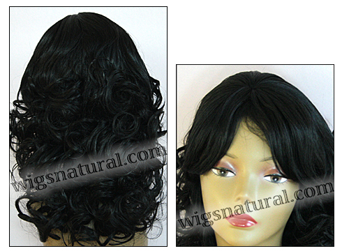Human hair wig HH826, HairSense wig, Secret Collection, color #1