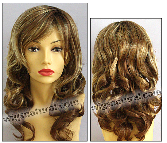 Envy lace front wig Alana, color shown golden nutmeg