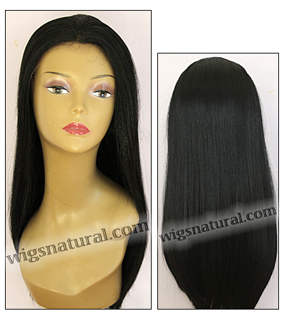 Human hair blend lace front wig HBL-CHARITY, SEPIA Love it wig collection, color 1B